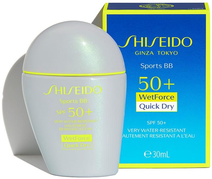 Przeciwsłoneczny krem BB do twarzy SPF 50+ - Shiseido Sports BB Cream — фото N2