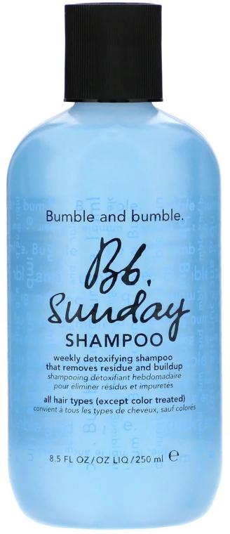 Oczyszczający szampon do włosów - Bumble and Bumble Sunday Shampoo — фото N1