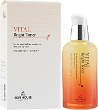 Kup Rozświetlający tonik do twarzy - The Skin House Vital Bright Toner