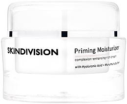 Kup Nawilżający krem do twarzy z kwasem hialuronowym i masłem murumuru - SkinDivision Priming Moisturizer Complexion-Enhancing Rich Cream