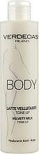 Kup Tonizujące mleczko do ciała - Verdeoasi Velvety Milk Tone-Up