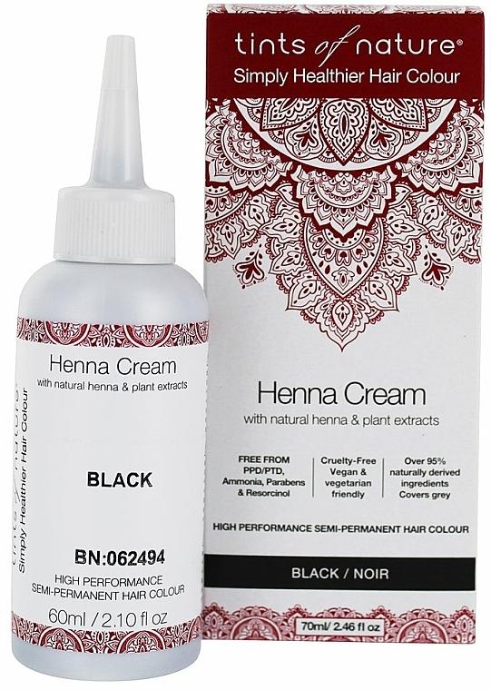 Henna w kremie do koloryzacji włosów - Tints Of Nature Henna Cream — фото N1