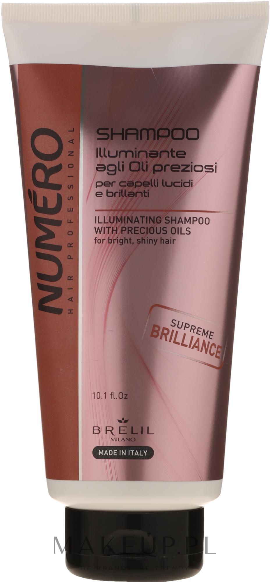 Szampon do włosów z olejem Macassar i keratyną - Brelil Numero Hair Professional Beauty Macassar Oil Shampoo — фото 300 ml