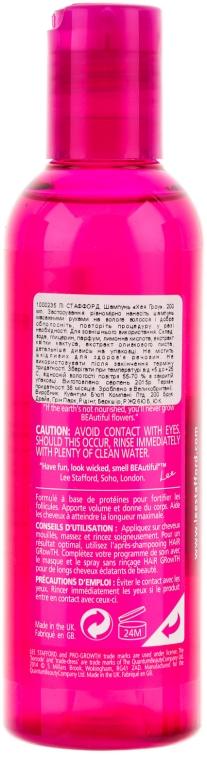 Szampon na porost włosów - Lee Stafford Hair Growth Shampoo — фото N2