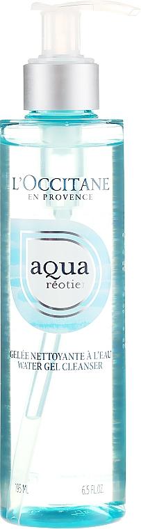 Nawilżający żel do mycia twarzy - L'Occitane Aqua Réotier Water Gel Cleanser — фото N1