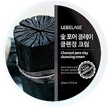 Kup Oczyszczający krem do mycia twarzy - Lebelage Charcoal Pore Clay Cleansing Cream