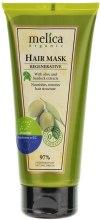 Kup Rewitalizująca maska do włosów z ekstraktem z łopianu i oliwek - Melica Organic Regenerative Hair Mask