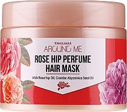 Kup Maska do włosów zniszczonych - Welcos Around Me Rose Hip Perfume Hair Mask