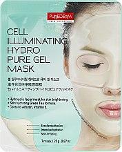 Kup Rozświetlająca maseczka hydrożelowa do twarzy - Purederm Cell Illuminating Hydro Pure Gel Mask