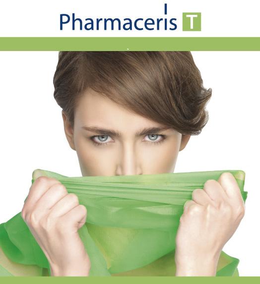 Antybakteryjny płyn micelarny do oczyszczania i demakijażu twarzy i oczu - Pharmaceris T Sebo-Micellar Solution Cleansing Make-Up Removal — фото N3