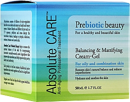 Kup Krem-żel równoważąco-matujący - Absolute Care Prebiotic Beauty Balancing&Mattifying Cream-Gel