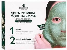 Kup Oczyszczająca maska do twarzy zwężająca pory - Shangpree Green Premium Modeling Mask