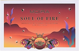 Kup Paleta cieni do powiek - Moira Soul of Fire Shadow Palette