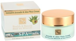Kup Intensywny krem Awokado i aloes - Health And Beauty Intensive Avocado & Aloe Vera Cream