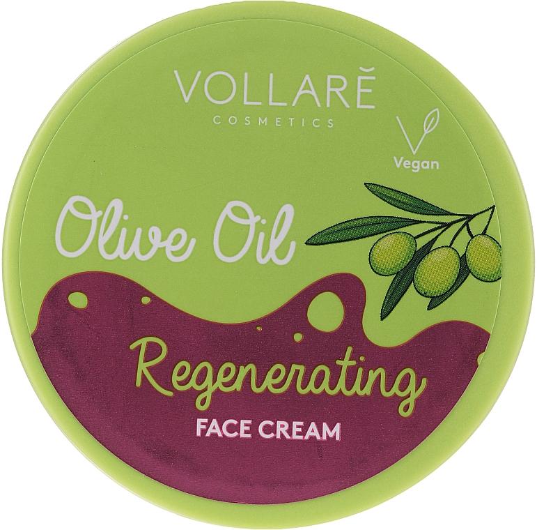 Krem regenerujący Oliwa z oliwek - Vollare Regenerating Olive Oil Face Cream