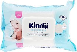 Kup Nawilżane chusteczki dla dzieci do skóry normalnej - Cleanic Kindii Skin Balance