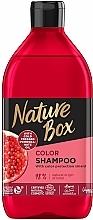 Kup Szampon do włosów farbowanych z olejem z granatu - Nature Box Pomegranate Oil Shampoo