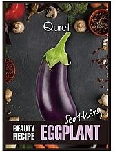 Kup Kojąca maska do twarzy w płachcie - Quret Beauty Recipe Mask Eggplant Soothing