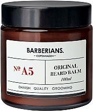 Kup Bezzapachowy balsam do układania i pielęgnacji brody - Barberians. №A5 Beard Balm