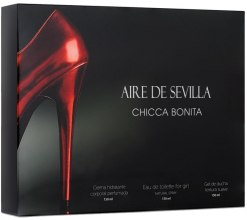 Kup Instituto Espanol Aire de Sevilla Chicca Bonita - Zestaw (edt/150ml + sh/gel/150ml + cr/150ml)