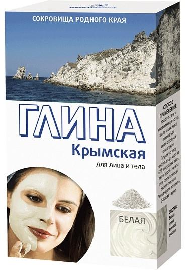 Krymska biała glinka do twarzy i ciała - FitoKosmetyki