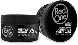Kup Wosk do stylizacji włosów - Red One Professional Men Creative Fiber Wax Maximum Control Strong Hold & Matte