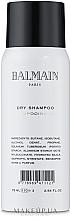 Kup Suchy szampon do włosów - Balmain Paris Hair Couture Hair Dry Shampoo