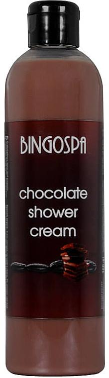 Czekoladowy krem pod prysznic - BingoSpa Chocolate Cream Shower — фото N1