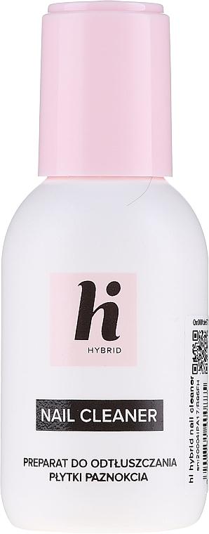 Zestaw startowy do manicure (n/base 5 ml + n/top 5 ml + n/polish 5 ml + n/cl 50 ml + lamp + baff + n/file 1 pc)  - Hi Hybrid — фото N2