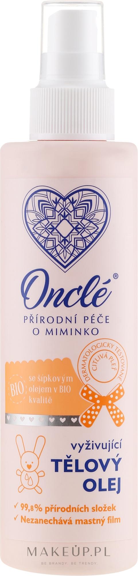 Odżywczy bioolejek do ciała dla dzieci od 1. dnia życia - Oncl'e Baby Oil — фото 200 ml