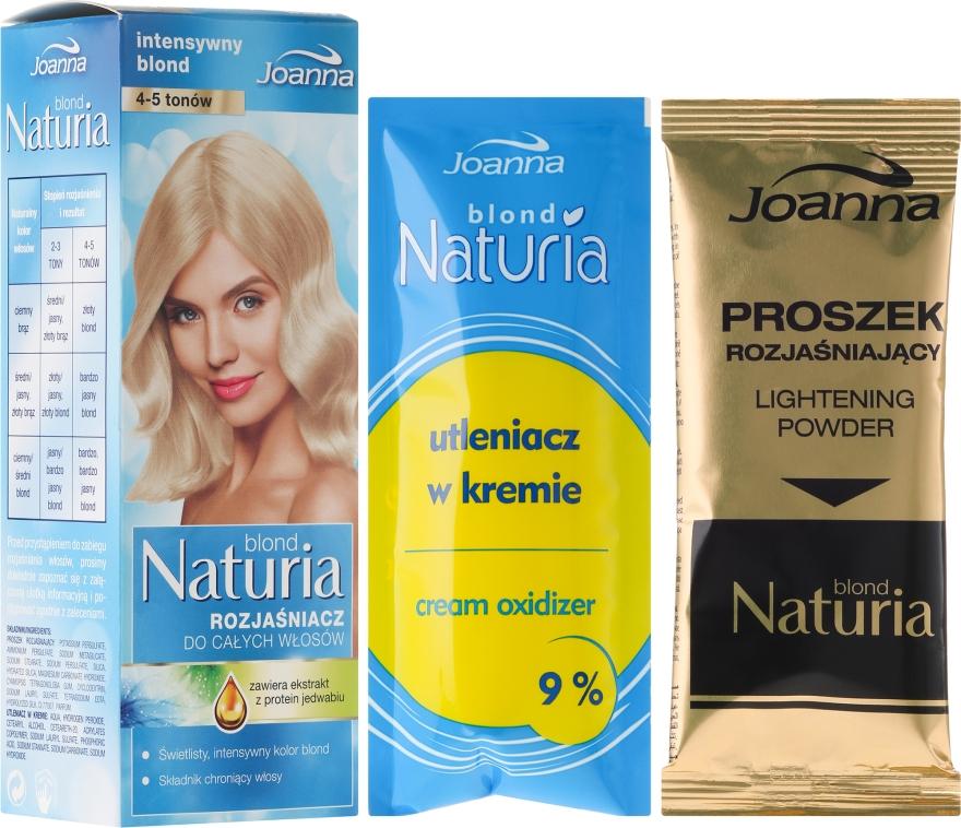 Rozjaśniacz do całych włosów - Joanna Hair Naturia Blond