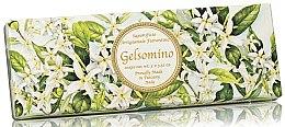 Kup Zestaw naturalnych mydeł w kostce Jaśmin - Saponificio Artigianale Fiorentino Jasmine Scented Soap (3 x soap 100 g)