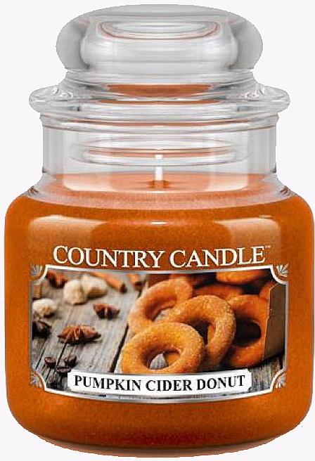 Świeca zapachowa - Country Candle Pumpkin Cider Donut — фото N1