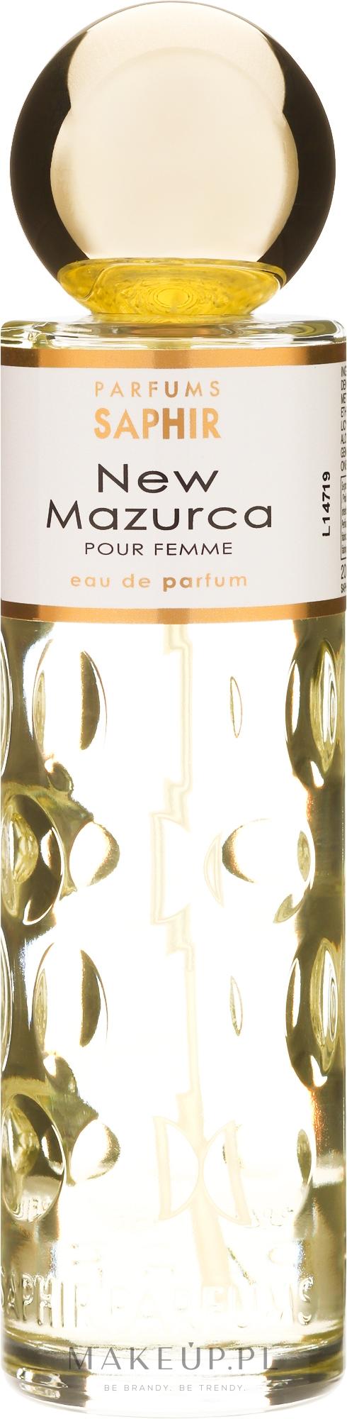 parfums saphir new mazurca pour femme