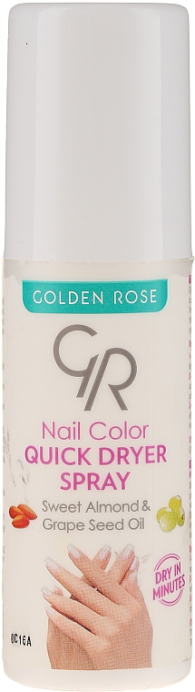 Utrwalacz do paznokci - Golden Rose Nail Quick Dryer Spray