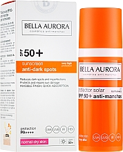 Kup Odmładzający krem do twarzy z filtrem SPF 50+ - Bella Aurora Sunscreen Anti-Dark Spots Protect-Adapt System