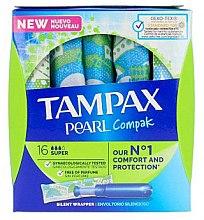Kup Tampony z aplikatorem, 18 szt. - Tampax Pearl Compak Super