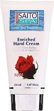Kup Krem do rąk Róża - Saito Spa Hand Cream Rose