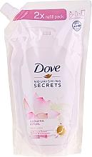 Kup Mydło w płynie do rąk z ekstraktem z kwiatu lotosu i wodą ryżową - Dove Nourishing Secrets Glowing Ritual Handwash (uzupełnienie)