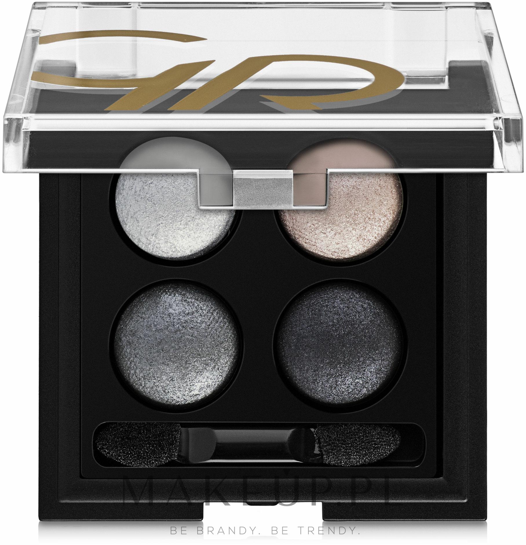Paletka cieni do powiek do aplikacji na mokro i sucho - Golden Rose Wet & Dry Eyeshadow — фото 02
