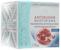Kup Aktywny krem regenerujący do twarzy na noc - Clinians Melograno Night Cream