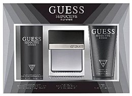 Kup Guess Seductive Homme - Zestaw (edt 100 ml + deo/spray 226 ml + sh/gel 200 ml)