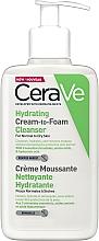 Kup Nawilżająca kremowa pianka do mycia twarzy - CeraVe Hydrating Cream To Foam Cleanser For Normal To Dry Skin