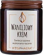 Kup Zapachowa świeca sojowa Waniliowy krem - Bosphaera