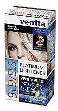 Kup PRZECENA! Rozjaśniacz do włosów o 9 tonów - Venita Plex Platinum Lightener*