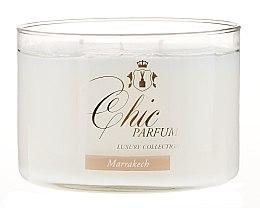 Świeca zapachowa w szkle - Chic Parfum Luxury Collection Marrakech Candle — фото N2