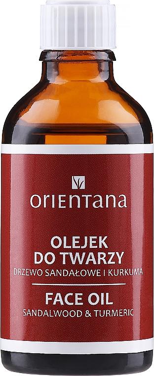 Olejek do twarzy Drzewo sandałowe i kurkuma - Orientana