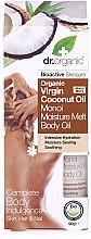 Kup Nawilżajacy olej monoi do ciała, włosów i paznokci Organiczny olej kokosowy - Dr. Organic Virgin Coconut Oil Moisture Melt