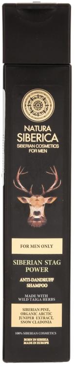 Szampon przeciwłupieżowy dla mężczyzn - Natura Siberica Siberian Stag Power