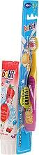 Kup Zestaw do zębów dla dzieci 2-7 lat - Bobini (t/brush + t/paste 75 ml)